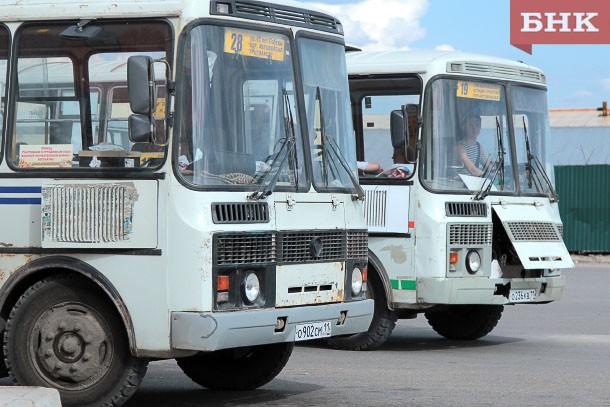 В Сыктывкаре из-за ремонта дорог изменится движение автобусов