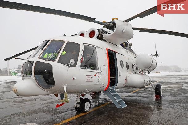 В поисках жителя Коми вертолет санавиации кружил над тайгой более полутора часов