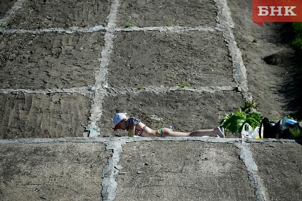 В Коми воздух прогреется до 29 градусов тепла